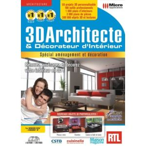 logiciel d 39 architecture et de decoration micro application. Black Bedroom Furniture Sets. Home Design Ideas