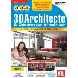 Logiciel d 39 architecture et de decoration micro application for Architecte 3d amazon