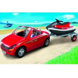 Playmobil 5133 - Voiture avec remorque et jet-ski