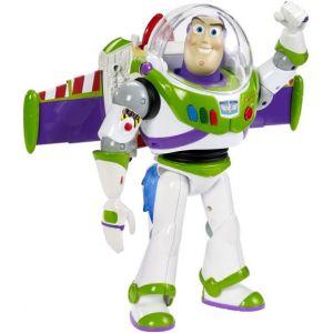 Mattel Figurine électronique Toy Story Buzz Super Rocket