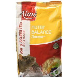 Aimé Nutri'balance Savour Mix pour rat et souris 900 g