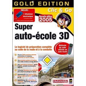 Super Auto-école 3D 2005 pour Windows