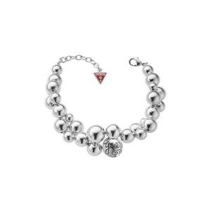 Guess UBB70208 - Bracelet femme boules métal rhodié