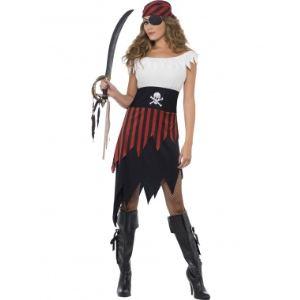 Déguisement pirate robe dentelée (taille 36-38)