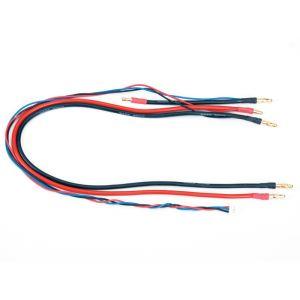 Graupner 98994.LG4 - Cordon de charge G4 avec prise d'équilibrage S - Saddle Pack - 0,5m