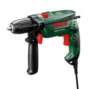Bosch PSB 570 RE - Perceuse à percussion de 750 W