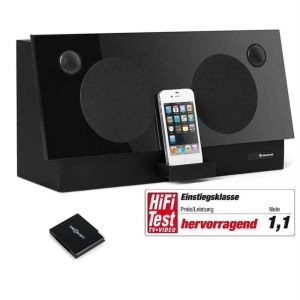 Auna iDock - Station d`accueil Bluetooth pour iPhone-iPod 600W