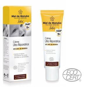 Comptoirs & Compagnies Crème ultra réparatrice bébé au miel de Manuka Bio