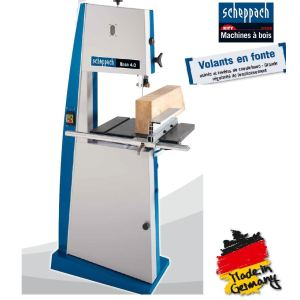 Scheppach Kity BASA 4.0 triphasé - Scie à ruban 1500W (1901504902)