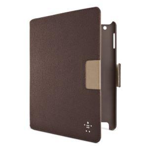 Belkin F8N759cw Cinema Swivel - Pochette de protection en cuir pour iPad 2 et iPad 3