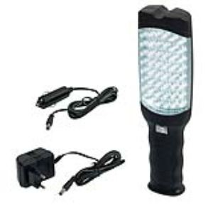Ribitech PRPL48LED/B - Baladeuse autonome 48 led blanches ultra brillantes