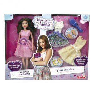 Simba Toys Violetta qui chante et ses vêtements