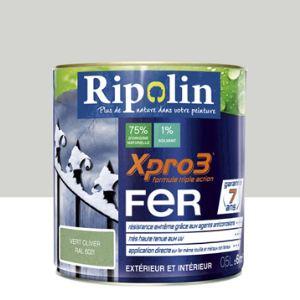 Ripolin Peinture Xpro3 Fer 0,5 litre