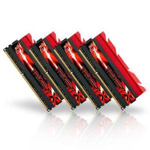 G.Skill F3-2400C10Q-16GTX - Barrettes mémoire TridentX 4 x 4 Go DDR3 2400 MHz CL10 Dimm 240 broches