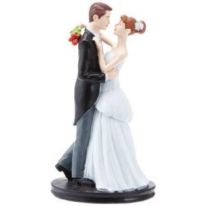"Figurine couple de mariés ""Dansant"" (19 cm)"