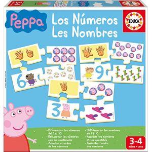 Educa J'apprends les Nombres Peppa Pig