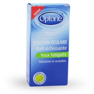 Optone Solution Oculaire rafraîchissante
