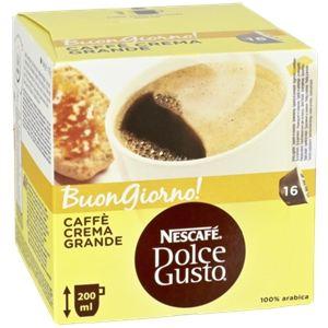 Nescafe 16 capsules Dolce Gusto Caffè Crema Grande