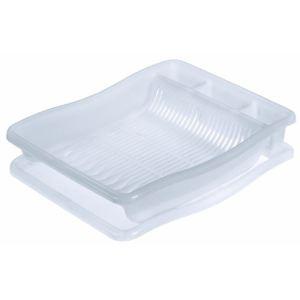Curver 173087 - Egouttoir à vaisselle pour 24 assiettes avec plateau GM