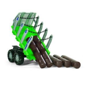 Rolly Toys Remorque forestière pour tracteur à pédales
