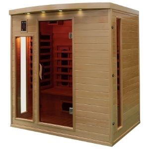 France Sauna Apollon 4 - Sauna cabine infrarouge pour 4 personnes