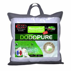 dodo oreiller classique dodopure 60 x 60 cm comparer avec. Black Bedroom Furniture Sets. Home Design Ideas
