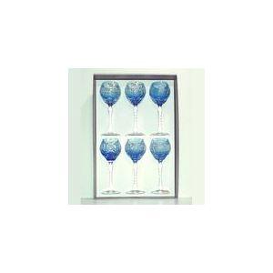 Cristal de paris 6 verres à pied Roemer