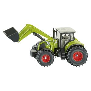 Siku 1979 - Tracteur Claas Axion avec chargeur frontal - Echelle 1:50