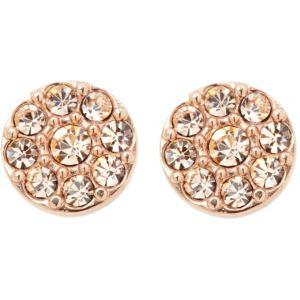 Fossil JF00830791 - Boucles d'oreilles en métal doré pour femme