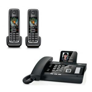 telephone fixe trio avec repondeur comparer 45 offres. Black Bedroom Furniture Sets. Home Design Ideas