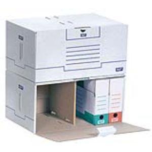 Fast 10 containers semi-automatiques en carton (56,3 x 35,5 x 27,6 cm)