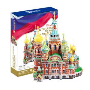CubicFun Russie : Cathédrale Saint-Sauveur-sur-le-Sang-Versé - Puzzle 3D 233 pièces