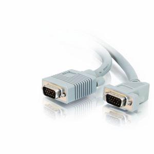 C2g 81110 - Câble moniteur SXGA HD15 M/M coudé 45° 5m