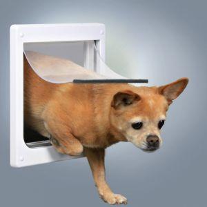 Trixie Chatière en plastique pour chiens 2 positions XS/S