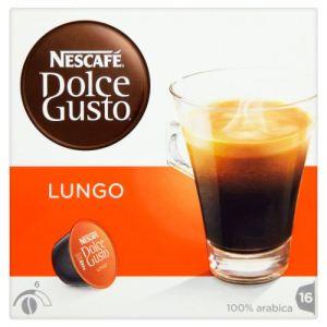 Nescafe 3 paquets de 16 capsules Dolce Gusto Caffè Lungo