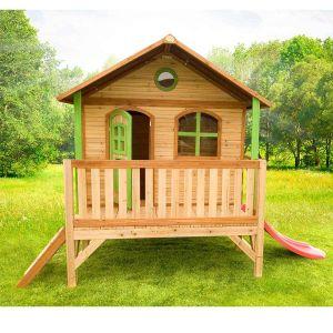 Axi Stef - Maisonnette en bois sur pilotis