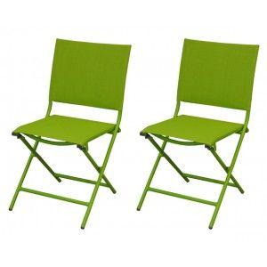 chaises textilene vert comparer 14 offres. Black Bedroom Furniture Sets. Home Design Ideas