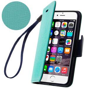 Avizar FOLIO-FANCY - Étui à clapet + Dragonne + Chiffonnette pour iPhone 6
