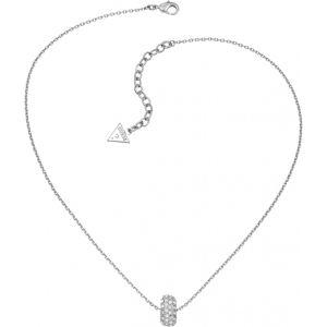 Guess Ubn51465 - Collier pour femme en métal argenté