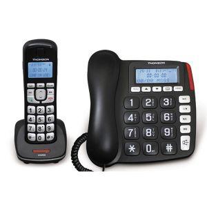 Thomson Serea Comby - Téléphone filaire et combiné sans fil
