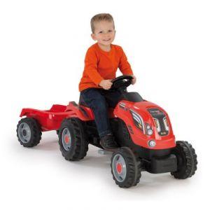 Smoby Tracteur Farmer Xl avec remorque