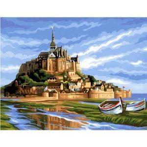 Oz international Peinture au numéro - Initiés : Mont Saint Michel