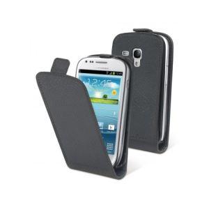 Muvit MUSLI0147 - Étui à clapet pour Galaxy S3 mini + film