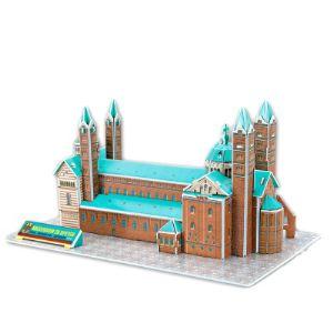 CubicFun Puzzle 3D : Cathédrale de Spire, Allemagne 41 pièces
