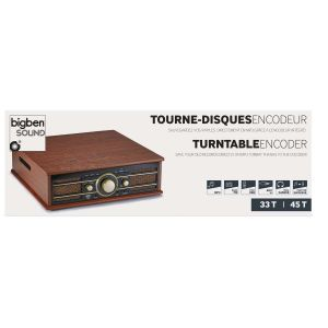 Bigben Interactive TD103 - Tourne disque encodeur lecteur radio