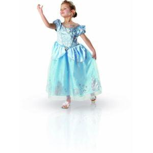 Rubie's Déguisement Cendrillon robe de luxe et mules Anniversaire (3-4 ans)
