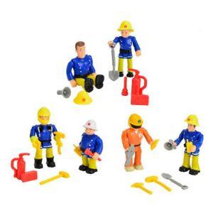 Smoby Assortiment de figurines Sam le Pompier (7,5 cm)