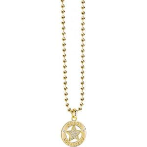 Guess UBN21600 - Collier et pendentif en métal doré pour femme