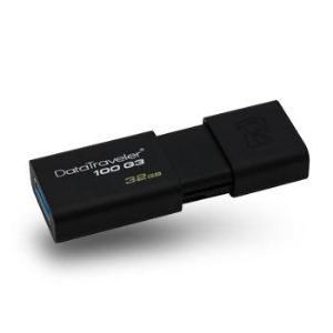 Image de Kingston DT100G3/32GB - Clé USB 3.0 DataTraveler 100 G3 32 Go