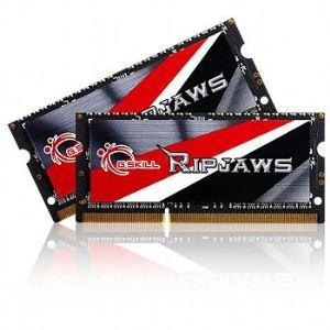 G.Skill F3-1600C9D-16GRSL - Kit barrettes mémoires Ripjaws 16 Go (2 x 8 Go) DDR3 1600 Mhz CL9 204 pins